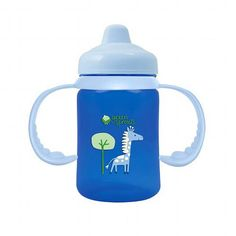 Green Sprouts Sippy Cup Non Spill Aqua (1 Count)
