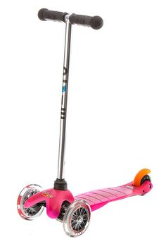 Micro Kickboard Mini Scooter in Pink from Best Outside Scooters Riding Toys for 4 and 5 Year Old Girls - Best Kids Ride on Toys Best Scooter For Kids, Electric Scooter For Kids, Kids Scooter, Mini Micro Scooter, Micro Kickboard, Kids Ride On Toys, Kids Toys, 21st Gifts, 3d Max