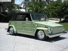 1973 VW Thing Maintenance/restoration of old/vintage vehicles: the material for new cogs/casters/gears/pads could be cast polyamide which I (Cast polyamide) can produce. My contact: tatjana.alic@windowslive.com