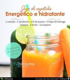 Hábitos Health Coaching   Jugo energético e hidratante!!