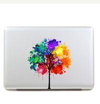 【海外発送】Macbook ステッカー ★ペイント デザイン シール