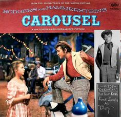Feb 16th: 'Carousel', starring Gordon MacRae and Shirley Jones, opens. This is the film Frank Sinatra walked out off in August 1955 when he realized that every scene had to be shot twice; once for Cinemascope, and once for 35mm. (After Sinatra's departure, the producers found a way to film the scene once on 55mm, then transfer it onto 35mm; as a result the film did not have to be shot twice. The soundtrack knocks Sinatra's LP 'Songs for Swingin' Lovers' off the no. 1 spot on the UK charts!)