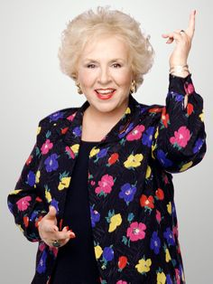 Doris Roberts ~ My mom looks a little like Doris Roberts. Not a twin by any means but there is definitely a resemblance.