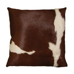Wrapped in rich leather, this pillow brings contemporary Western inspiration to your sofa, settee, or arm chair.   Product: Pillow
