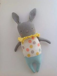 Softie,Luvdolls,Circus bunny Multidots