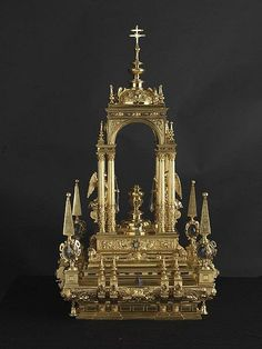 Ceremonia y rúbrica de la Iglesia española - Custodias procesionales - Otros objetos de uso litúrgico
