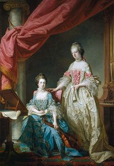 Princess Louisa and Princess Caroline
