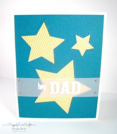 Happily Ever Crafter: Hey Dad; April 2015 Paper Pumpkin Kit. Handmade Father's Day Card.