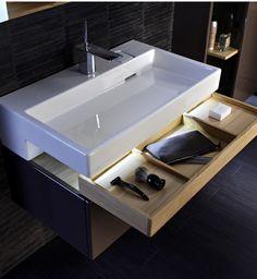 Jacob Delafon-Terrace // furniture-idea-storage-mini drawer