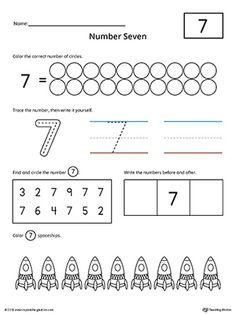 number 17 practice worksheet numbers counting pinterest writing numbers printable. Black Bedroom Furniture Sets. Home Design Ideas