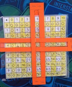 Saw this on Pinterest and thought it was pretty neat! #teachingmath #timestables #multiplication #skipcounting #mathteaching #mathteacher…