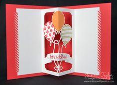 Balloon Pop-Up Thinlits Card