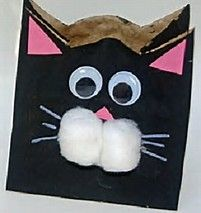 Spooky, silly and adorable black cat crafts for Halloween, including paper crafts, preschool crafts and printable crafts for kids. Halloween Crafts For Kids, Craft Projects For Kids, Crafts For Kids To Make, Fall Halloween, Art For Kids, Halloween Ideas, Craft Ideas, Preschool Halloween, Cat Crafts