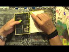 ▶ secret belgian binding art journal. Tutorial, part 1 of 3 - YouTube