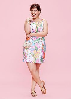 Every Single Piece From The Lilly Pulitzer x Target Collection #refinery29  http://www.refinery29.com/2015/03/84530/lilly-pulitzer-target-collaboration-lookbook#slide-21  Lilly Pulitzer for Target Shift Dress - Nosie Posey $38, available at Target.