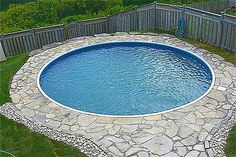 Best Small Inground Pool Designs Ideas — Interior Exterior Homes Inground Pool Designs, Small Inground Swimming Pools, Backyard Pool Designs, Swimming Pool Designs, Pool Landscaping, Backyard Ideas, Garden Ideas, Pools For Small Yards, Kleiner Pool Design