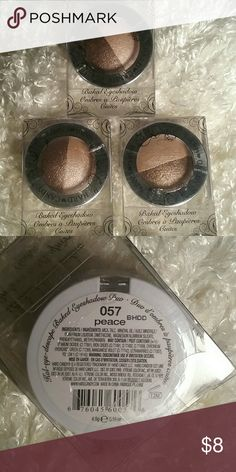 NEW(One)Hard Candy Kal-eye-descope Baked Eyeshadow **SALE** This is for ONE Brand New Hard Candy Kal-eye-descope Baked Eyeshadow in neutral tones called Peace! Apply wet for maximum effect or dry for toned down colors. Bundle and save! Hard Candy Makeup Eyeshadow