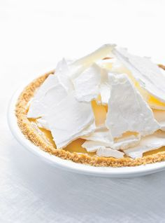 Grapefruit Pie with Crunchy Meringue