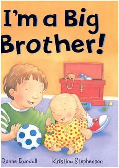 I'm a Big Brother by Ronne Randall, illustrated by Kristina Stephenson. Luke is excited about becoming a big brother when his parents bring home a new baby. Find this in the picture book section under E RAN. Baby Sister, Brother Sister, Books For Boys, Childrens Books, Baby Books, Big Brother Gifts, Thing 1, Children's Picture Books, Disney Family