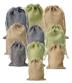 Mini Jute Bags, Hessian Pouches, Burlap Pouches