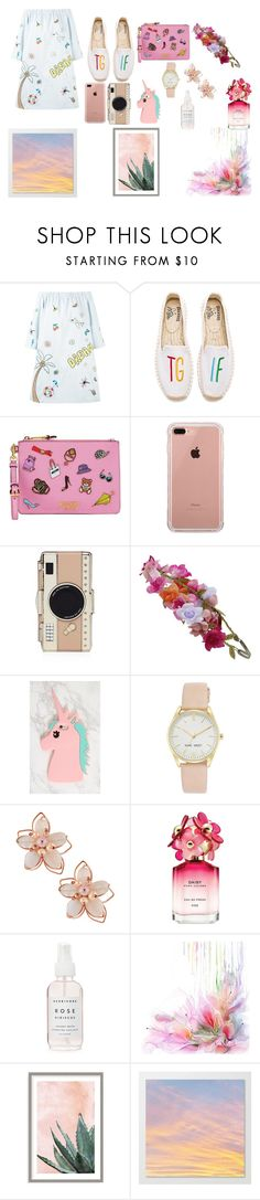 """spring"" by vk126 on Polyvore featuring мода, Mira Mikati, Soludos, Moschino, Belkin, Kate Spade, Accessorize, Nine West, NAKAMOL и Marc Jacobs"