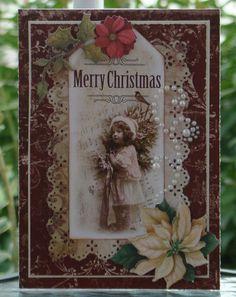 Christmas crad - Scrapbook.com