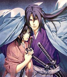 Chizuru & Toshizou (Hakuouki Shinsengumi Kitan)