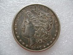 1897 S San Francisco Mint Silver Morgan Silver Dollar