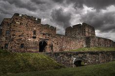Carlisle castle by Misterzeee, via Flickr