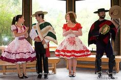 kind of clothing in traditional chile Spanish Projects, Latin America, South America, American Apparel, American Clothing, Traditional Dresses, Lace Skirt, Dress Up, Culture