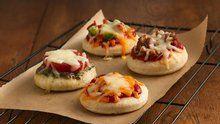 Mini Veggie Pizzas