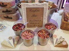 Premier Real Petal Biodegradable Confetti Bar 50 Guests