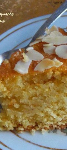 πια Greek Sweets, Greek Desserts, Greek Recipes, Greek Cake, Eat Greek, Portokalopita Recipe, Greek Cooking, How To Make Cake, Cake Cookies