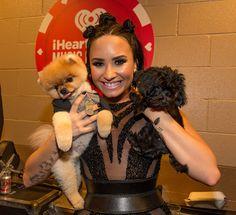 Demi Lovato Jiff Pom & Batman