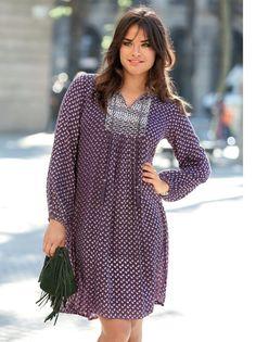 d1eb57e88 Te encantará lucir un estilo femenino y casual con este vestido de escote  caftán con cordones