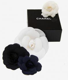 Chanel - Camelia pins