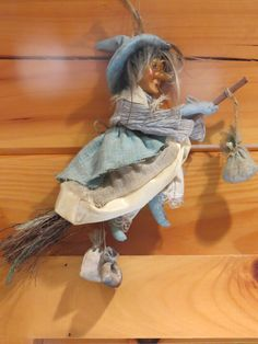 ✯ Kitchen Witch ✯It is a Nordic Pagan tradition to have one in your kitchen. I do!