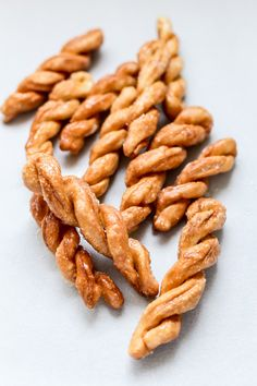 Pilipit - Sweet twisted Filipino delicacy made out of either regular flour or rice flour. #pilipit