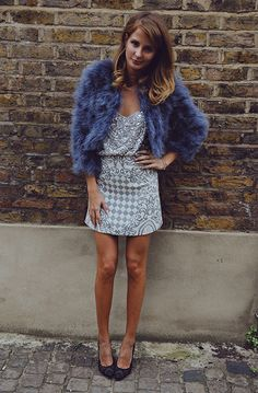 #Christmas #Party style with Millie Mackintosh