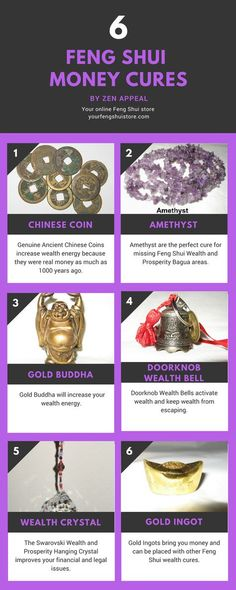 Feng Shui Money, Wealth and Prosperity cures.y… Feng Shui Money Infographic. Feng Shui Money, Wealth and Prosperity cures. GoldenFeng Shui Money tip for t Feng Shui And Money, Feng Shui Wealth, Feng Shui Energy, Feng Shui Small Bedroom, Feng Shui Dicas, Feng Shui History, Fen Shui, Feng Shui House, Attract Money