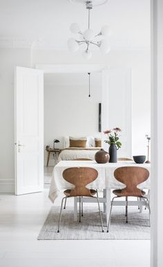 Bright White Home With Warm Details