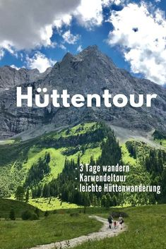 Hüttenwanderung Currently one of the most popular tours in the Alps. The hut hiking in the Karwendel from the footsteps of Künig Ludwig! Here are my experiences on the King Ludwig Karwendeltour # Hut hike # Hut tour # Multi-day hike Europe Destinations, Europe Travel Tips, Travel Hacks, Budget Travel, Camping Hacks, Camping Ideas, Blog Fotografia, Camping Photography, Family Photography