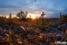 Arctic Sunrise on fell Kuer in @visityllas #Ylläs #Lapland #Finland