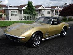 1969 Chevrolet Corvette 427 - One of only 390 L89's produced