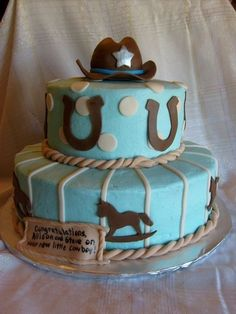 Country Western Baby Shower Ideas | western baby shower - Google Search | Party/shower ideas