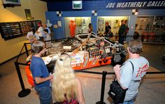 The Darlington Raceway Stock Car Museum has exhibits covering more than 60 years of NASCAR. Visit Darlington, SC. Photo courtesy of Harrelson Photography.
