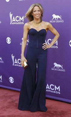 Sheryl Crow in Zac Posen at the 2013 Country Music Awards