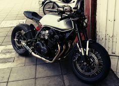 Honda CB750 modelo 80 Cafe Racer