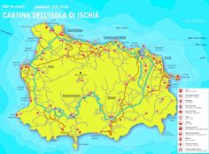 Favignana tourist map Maps Pinterest Tourist map and Italy
