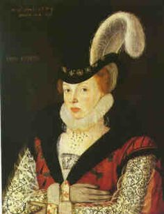 ELIZABETH CORNWALLIS (1547-August 12,1628)  EXCERPT:'Elizabeth Cornwallis was the daughter of Sir Thomas Cornwallis and Anne Jerningham. Her mother was a lady of the privy chamber to Queen Mary and her father had been in the service of the duke of Norfolk before he, too, joined the royal household. Elizabeth entered the service of the duchess of Norfolk  before her marriage in 1561. Her husband was Sir Thomas Kytson or Kitson of Hengrave Hall, Suffolk.'